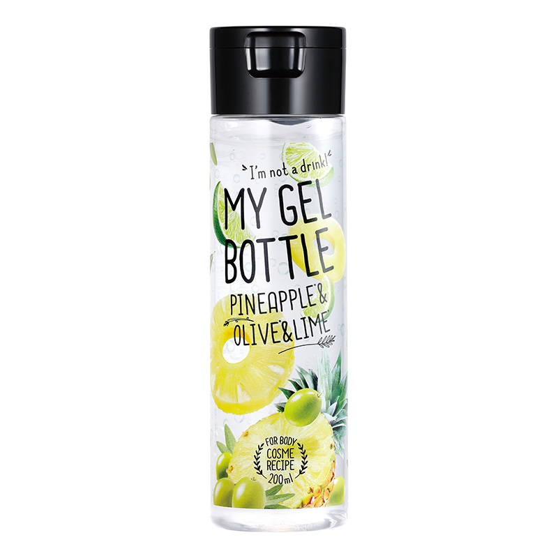 MY GEL BOTTLE Pineapple & Olive & Lime