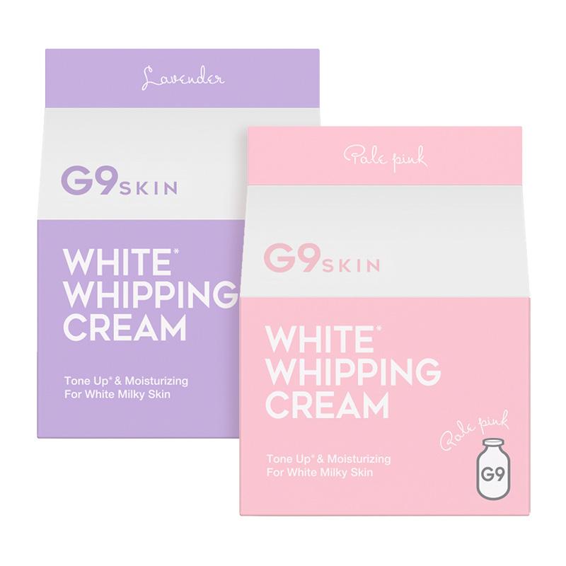 G9 SKIN WHITE WHIPPING CREAM #PINK & #LAVENDER
