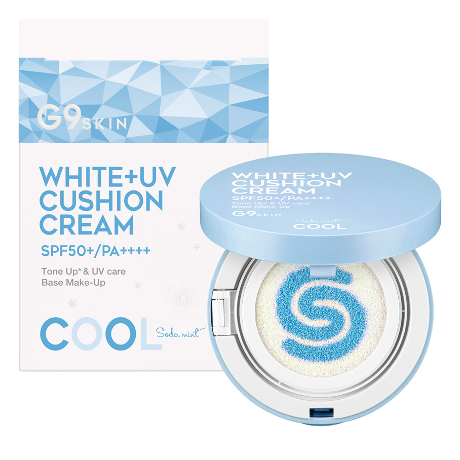 G9 WHITE +UV CUSHION CREAM #COOL