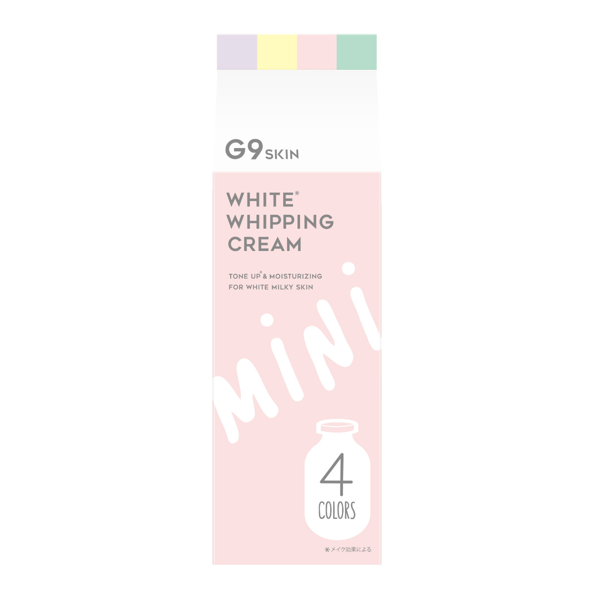 G9 WHITE WHIPPING CREAM 4 Colors